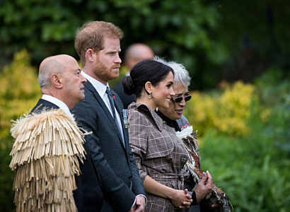 Ceremony of Welcome for TRH The Duke and Duchess of Sussex