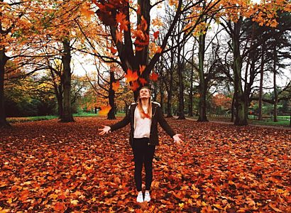 Sarah Paul Outdoors Autumn