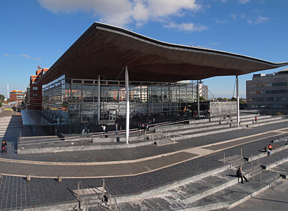 Senedd Welsh Parliament Cardiff Bay
