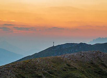 Sunset hill cross