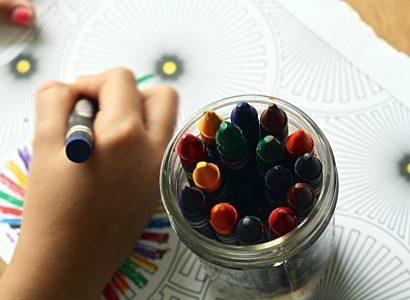 Art and crafts child