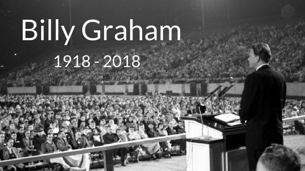 Billy Graham 1918 - 2018