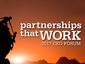 CEO Forum 2017: Partnerships that work