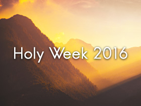 Holy Week 2016: Snap