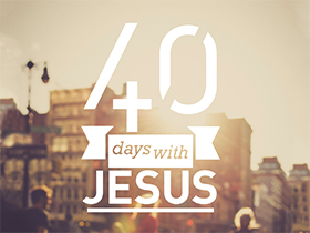 Churches start 40 days with Jesus