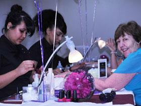 Jesus House offers pampering treatments to 'unsung mothers'