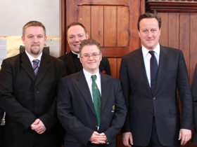 Cameron honours Church Army Evangelist's contribution to 'Big Society'