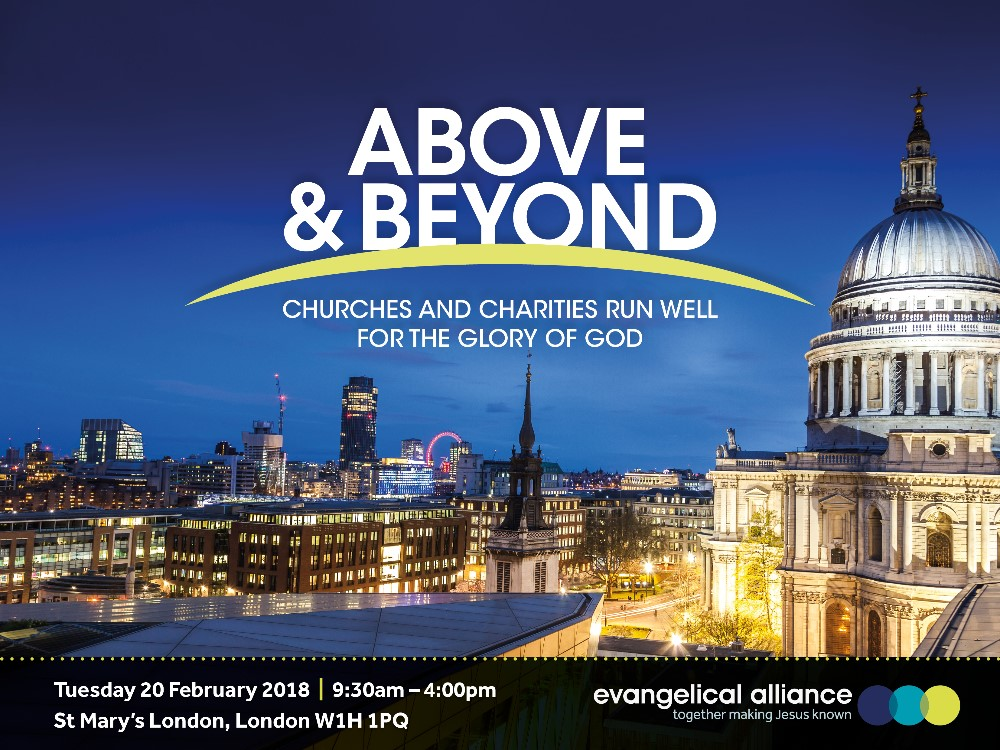 Above & Beyond - churches and charities run well for the glory of God