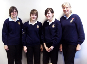 Girls' Brigade receive government funding