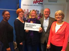Christian drug education charity wins Big Society award