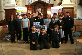 Operation Christmas Child launched by school children