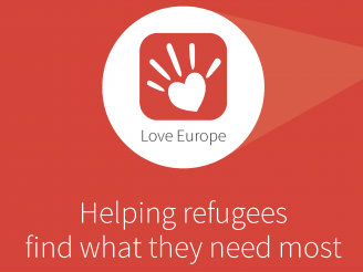 New app gives refugees a helping hand