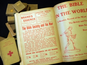 How did the Bible help your family during WW1?