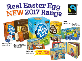 The Real Easter Egg is back for 2017