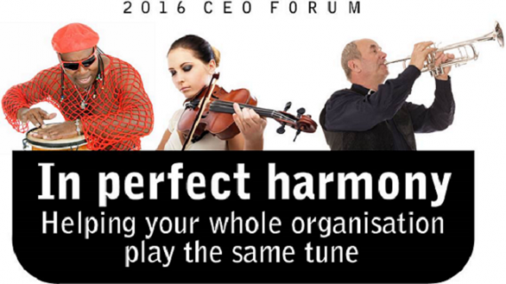 CEO's Forum - In Perfect Harmony