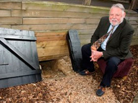 Terry Waite opens celebrations for Swanwick Conference Centre's 100th Anniversary