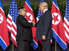 Trump meets Kim: present justice and future hope