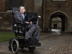 Stephen Hawking and hope for the future