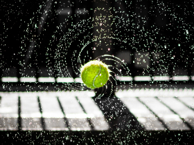 Tennis balls and the table-turning Jesus