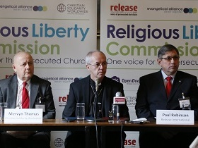 Evangelical Alliance's Religious Liberty Commission launched