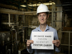 Scientist David Ward