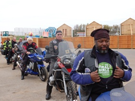 Bikers take Viral Bible from Skegness to rest of Britain