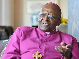Desmond Tutu. Photo credit: Templeton Prize / Michael Culme-Seymour