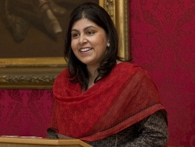 Alliance welcomes Baroness Warsi to new faith role