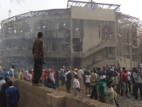Prayers for Nigeria after church attacked in Jos