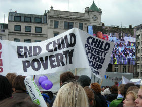 Child poverty and serving Scotland