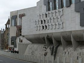 Christians gather at Holyrood to promote 'Good News for the Poor'