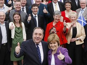 SNP take control of Scottish Parliament