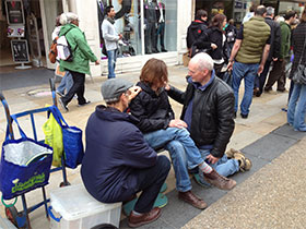 Healing on the streets - Oxford