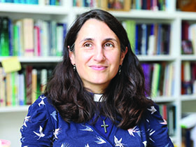 60 seconds with... Rev Isabelle Hamley